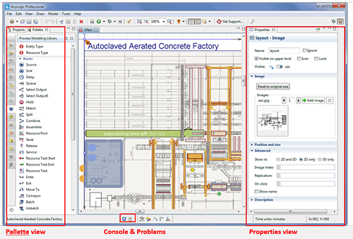 What's New in AnyLogic 7? User Interface