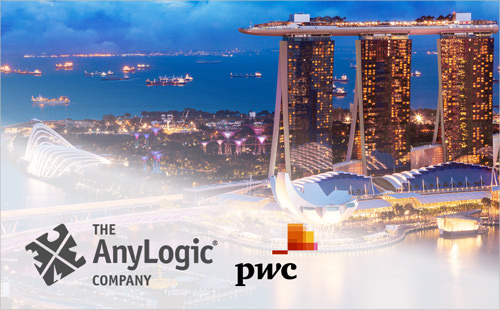 PwC Singapore and The AnyLogic Company partnership