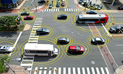 Improving Intersection Efficiency with Connected Vehicle Technology