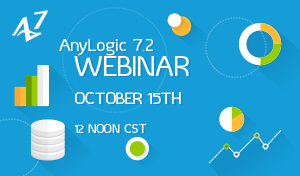 Webinar Demonstrating AnyLogic 7.2 New Features