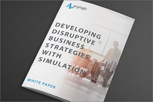 Developing disruptive business strategies with simulation – white paper